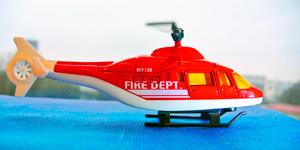 Новые видео для детей.  Пожарный вертолёт.  Распаковка игрушек для мальчиков.